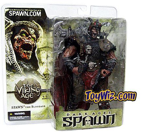 McFarlane Toys Dark Ages The Viking Age Spawn the Bloodaxe Action Figure