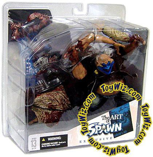 McFarlane Toys The Art of Spawn Collector's Club Clown 5 Exclusive Action Figure [Bloody]