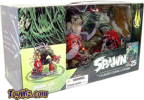 McFarlane Toys Spawn Series 25 The Classic Comic Covers Creech 2 Action Figure