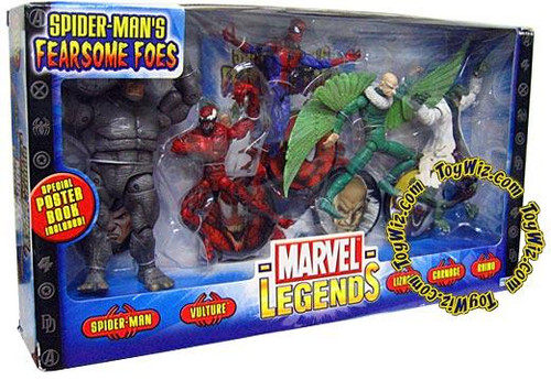 Marvel Legends Boxed Sets Spider-Man's Fearsome Foes Action Figure Boxed Set