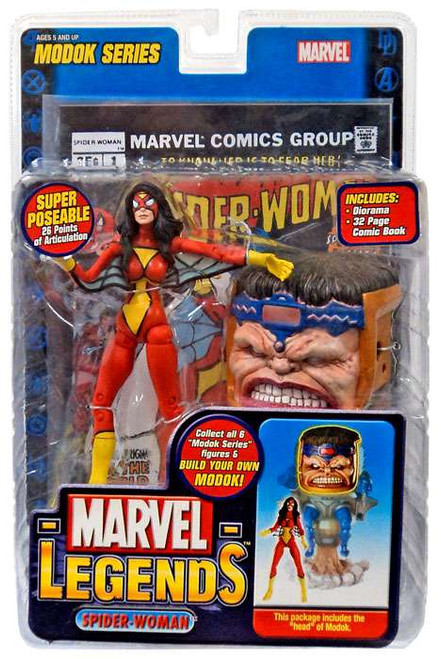 Marvel Legends Series 15 M.O.D.O.K. Spider-Woman Action Figure