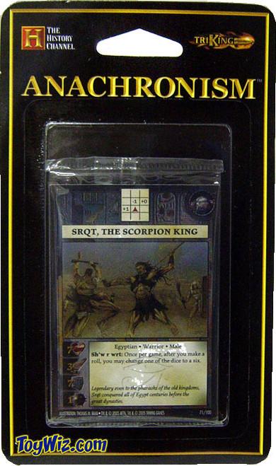 Anachronism Egyptian Sqrt, the Scorpion King Warrior Pack