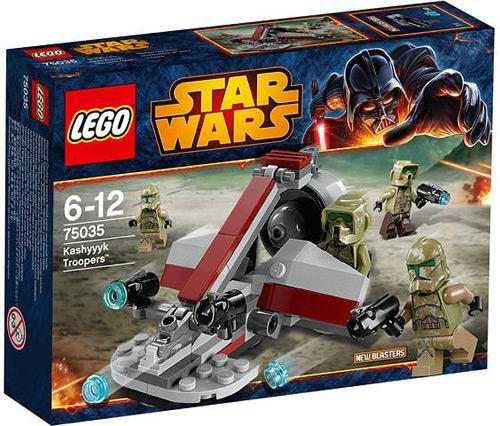 LEGO Star Wars Revenge of the Sith Kashyyyk Troopers Set #75035