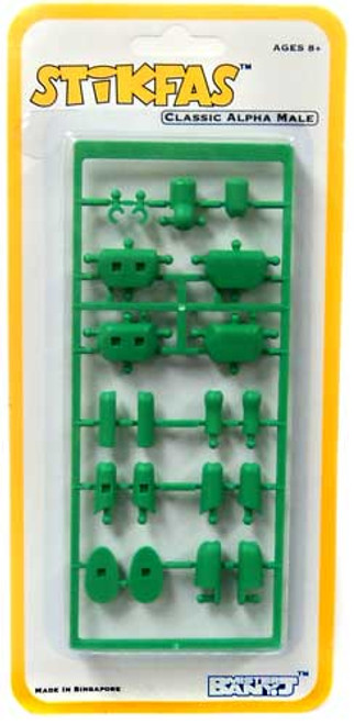 Stikfas Alpha Male Green Action Figure Kit