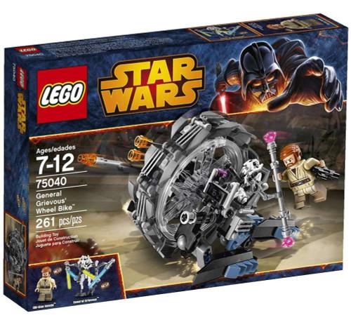 LEGO Star Wars Revenge of the Sith General Grievous Wheel Bike Set #75040