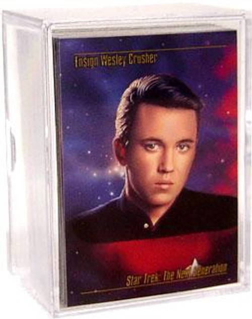 Star Trek The Next Generation The Power of Wheaton Compels You! Trading Card Set