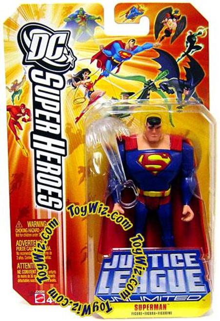 DC Justice League Unlimited Super Heroes Superman Action Figure [Breath]
