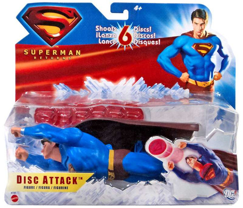 Superman Returns Superman Figure [Disc Attack]
