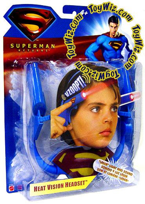 Superman Returns Heat Vision Headset Headpiece Roleplay Toy