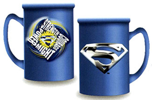 Superman Returns Strength Courage Power Might Cermaic Mug