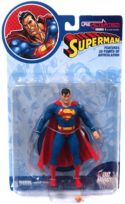 DC Reactivated Series 1 Superman Action Figure [Damaged Package]