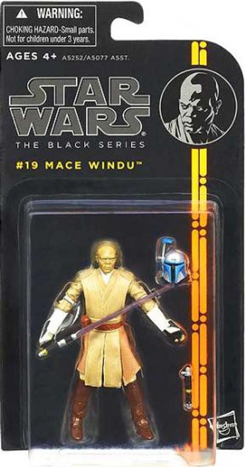 Star Wars Attack of the Clones Black Series Wave 3 Mace Windu Action Figure #19