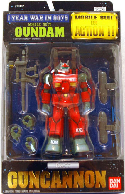 Gundam One Year Warin 0079 Mobile Suit in Action RX-77 Guncannon Action Figure