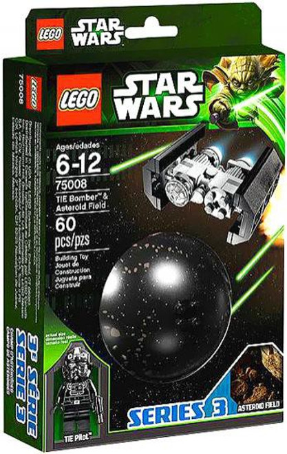 LEGO Star Wars The Empire Strikes Back Planets Series 3 TIE Bomber & Asteroid Field Set #75008
