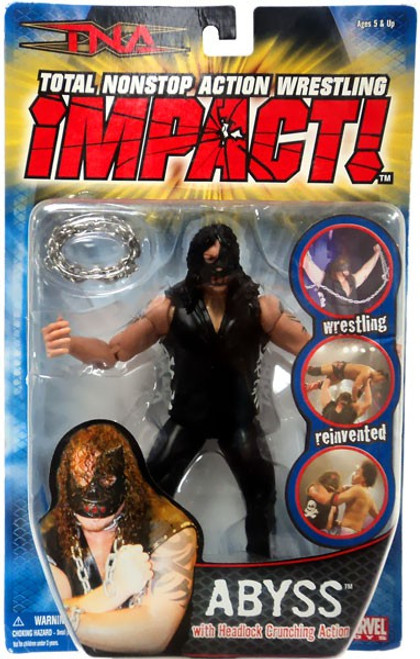 TNA Wrestling Impact Series 1 Abyss Action Figure