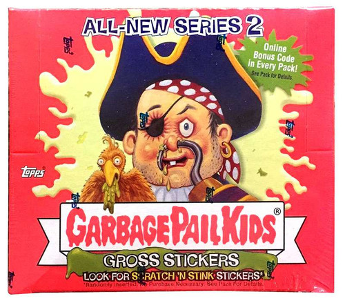 Garbage Pail Kids All-New Series 2 Trading Card Sticker Box