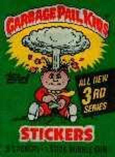 Garbage Pail Kids Series 3 Trading Card Sticker Pack