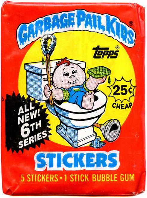Garbage Pail Kids Series 6 Trading Card Sticker Pack