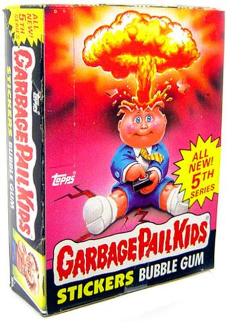 Garbage Pail Kids Series 5 Trading Card Sticker Box
