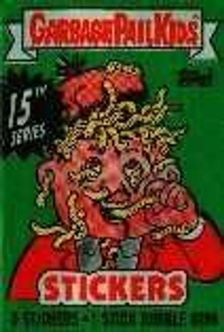 Garbage Pail Kids Series 15 Trading Card Sticker Pack