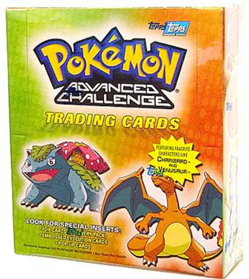 Pokemon Advanced Challenge Trading Card Box