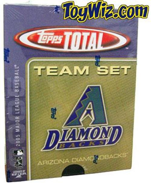 MLB 2005 Topps Total Baseball Cards Arizona Diamondbacks Team Set