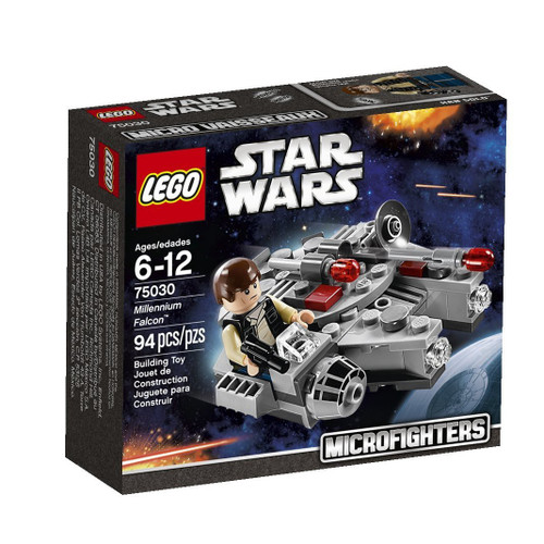 LEGO Star Wars A New Hope Microfighters Millennium Falcon Set #75030