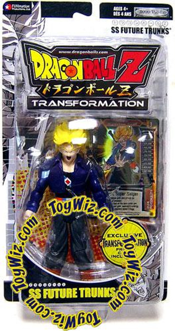Dragon Ball Z Transformation SS Future Trunks Exclusive Action Figure