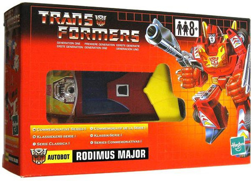 Transformers Generation 1 Commemorative Series I Rodimus Major Action Figure [Hot Rod]