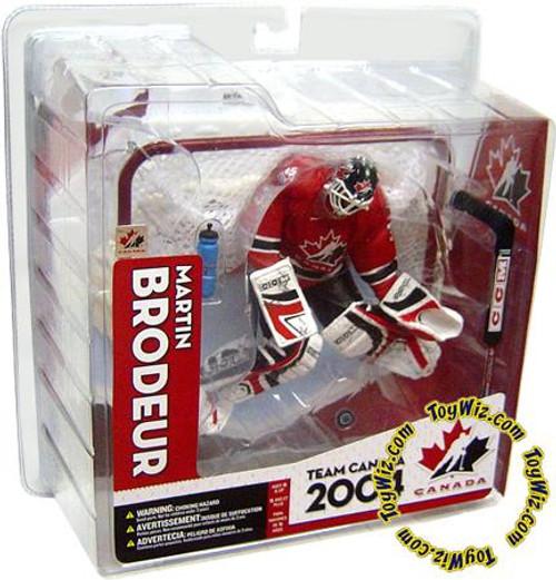 McFarlane Toys NHL Sports Picks Team Canada Martin Brodeur Action Figure