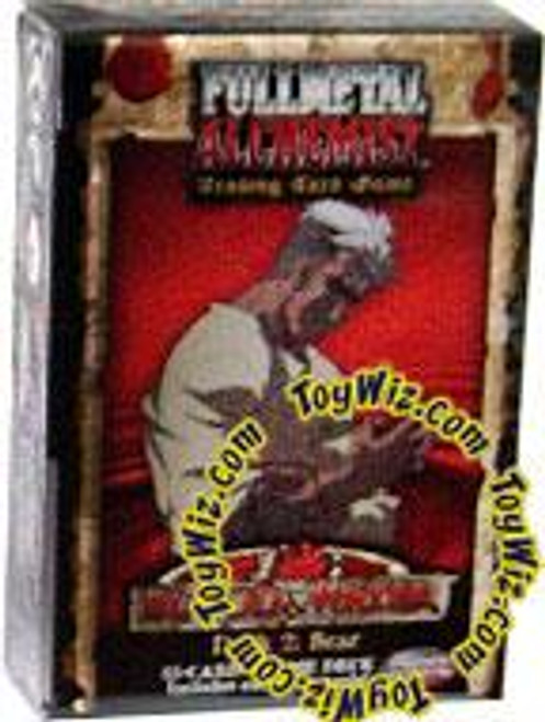 Fullmetal Alchemist Trading Card Game Blood & Water Scar's Vengeance Theme Deck