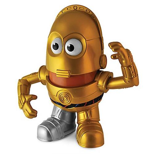 Star Wars C-3PO Mr Potato Head Figure