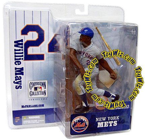 McFarlane Toys MLB Cooperstown Collection Series 2 Willie Mays Action Figure [Mets Uniform]