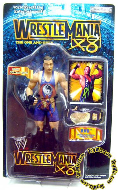 WWE Wrestling WrestleMania 18 Rob Van Dam Action Figure
