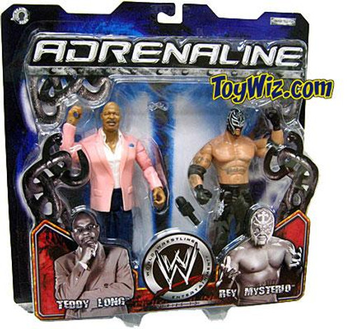 WWE Wrestling Adrenaline Series 13 Theodore Long & Rey Mysterio Action Figure 2-Pack