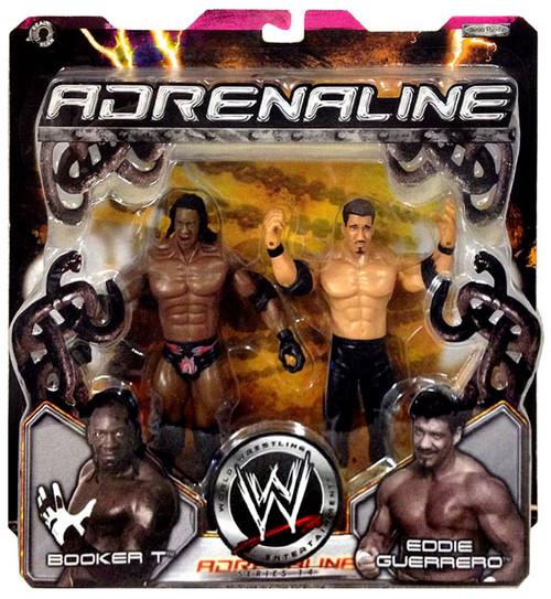 WWE Wrestling Adrenaline Series 14 Booker T & Eddie Guerrero Action Figure 2-Pack