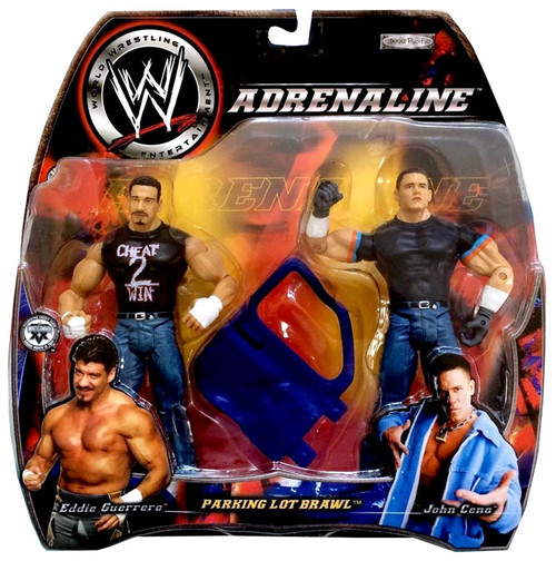 WWE Wrestling Adrenaline Series 5 Parking Lot Brawl Eddie Guerrero vs. John Cena Action Figure 2-Pack