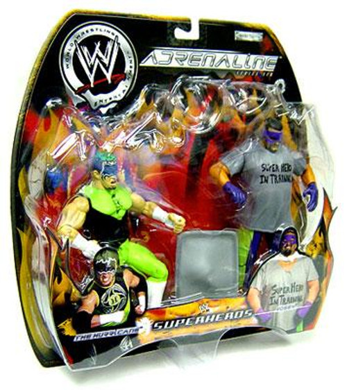 WWE Wrestling Adrenaline Series 6 Superheros The Hurricane & Rosey Action Figure 2-Pack