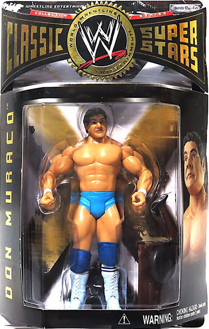 WWE Wrestling Classic Superstars Series 7 Don The Rock Muraco Action Figure