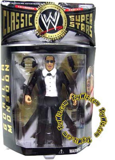 WWE Wrestling Classic Superstars Series 7 Gorilla Monsoon Action Figure