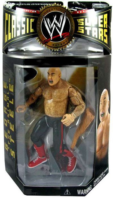 "WWE Wrestling Classic Superstars Series 2 George ""The Animal"" Steele Action Figure [Painted Hair]"