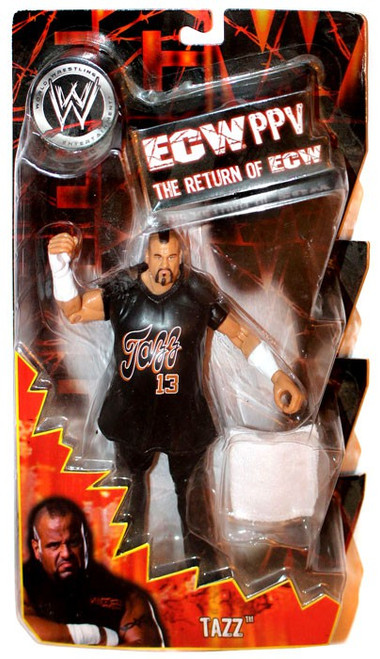 WWE Wrestling ECW PPV Series 9 Tazz Action Figure