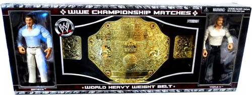 WWE Wrestling Belts World Heavyweight Belt Exclusive Action Figure