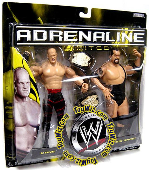 WWE Wrestling Adrenaline Limited Kane & Big Show Exclusive Action Figure 2-Pack