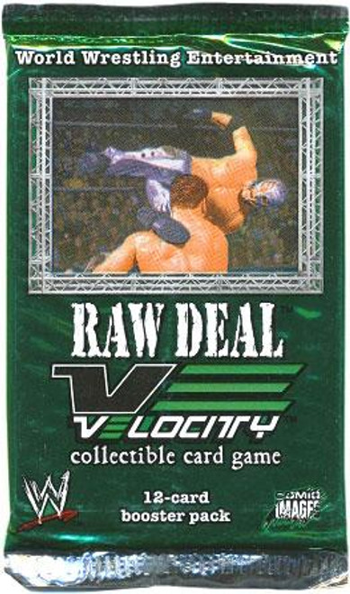 WWE Wrestling Raw Deal Trading Card Game Velocity Booster Pack