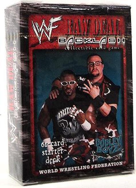 WWE Wrestling Raw Deal Trading Card Game Backlash The Dudley Boyz Starter Deck
