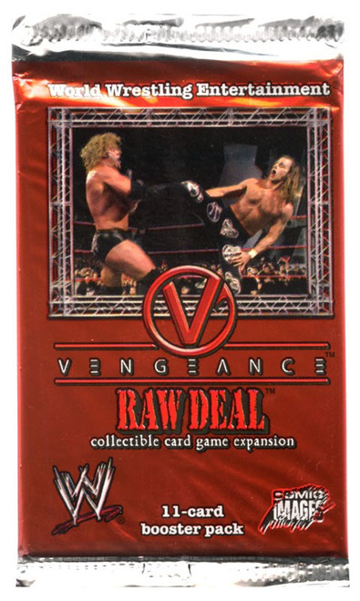 WWE Wrestling Raw Deal Trading Card Game Vengeance Booster Pack