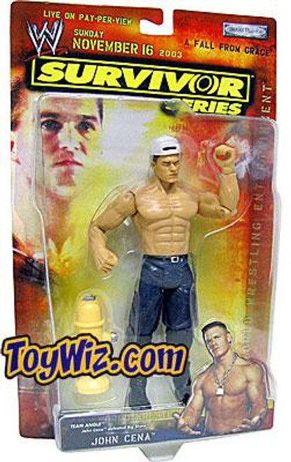 WWE Wrestling Survivor Series 2003 John Cena Action Figure