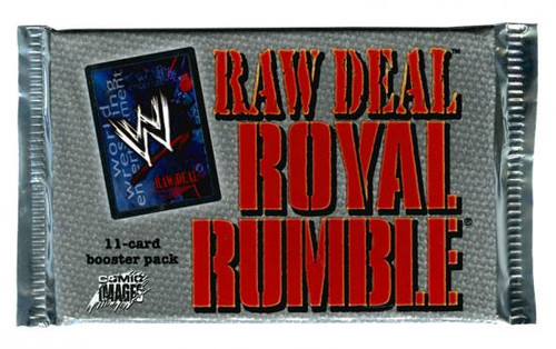 WWE Wrestling Raw Deal Trading Card Game Royal Rumble Booster Pack