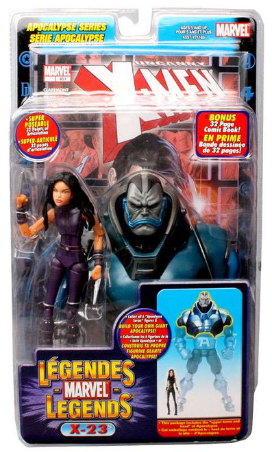 Marvel Legends Series 12 Apocalypse X-23 Action Figure [Purple Suit]